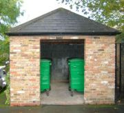 Artillery House bin enclosure